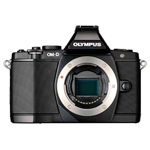 Olympus E-M5 Appareil photo numérique hybride Ecran 3″ 16,1 Mpix Noir