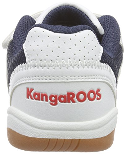 Kangaroos Backyard, Chaussures de sports en salle garçon Blanc