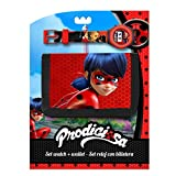 MIRACULOUS - Set cadeau Ladybug Miraculous portefeuille + montre digitale