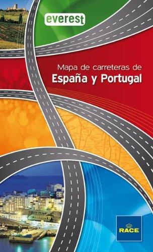 Mapa de Carreteras de España y Portugal Everest (Guías del viajero)