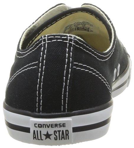 Converse All Star Dainty Ox, Baskets mode femme Noir (Noir 8)