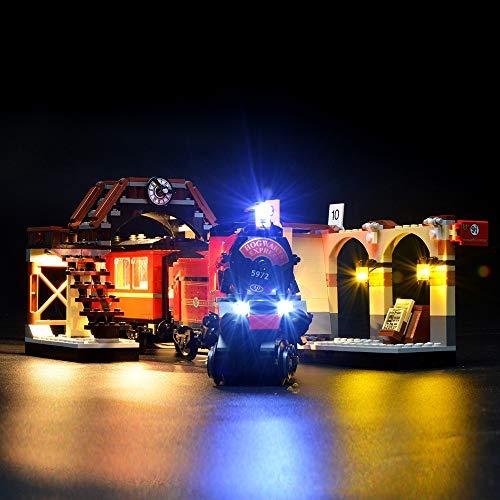 LIGHTAILING Jeu De Lumières pour (Harry Potter Poudlard Express) Modèle en Blocs De Construction -...