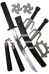 Grandi giochi gg16002 set armi ninja giochi for Tartarughe grandi