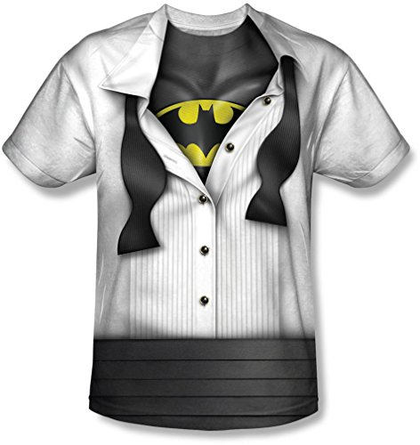 Neugeborenen Kleinkind Kostüm Batman - Batman - Jugend bin ich T-Shirt, Large, White