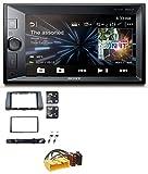 Sony XAV-V631BT 2DIN MP3 USB Bluetooth AUX Autoradio für Mazda 3 (2003-2009)