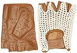 Omp OMPIB/747/M/M Tazio Handschuhe Vintage Creme/Braun Leder Größe: M