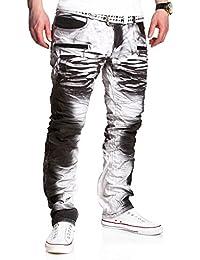 MT Styles Biker-Style Jeans Hose RJ-3121