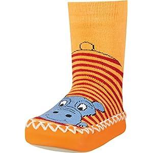 Playshoes Zapatillas con Suela Antideslizante Hippopotamus, Pantuflas Unisex Niños 15