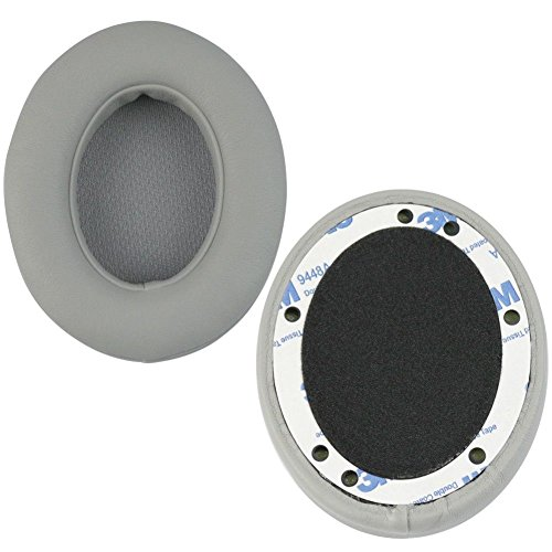 Rosepoem 2 Pezzi Auricolari Cuscino Pad Orecchio Pad Sostituzione Pad Orecchio Pad Cuffia 2.0 Wireless Regalo per I Regali -> Grigio