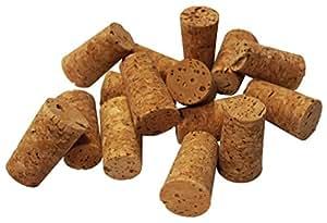 Naturkork, konisch Wein Korken (12Stück) Kostenlose Lieferung von UK Lager.