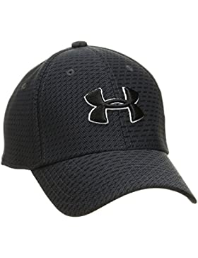 Under Armour Boy's Printed Blitzing 3.0 Gorra, Niños, Negro (016), S