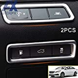 Chromium Styling - AX Chrome Center Console Control Switch Panel Cover Trim Bezel Molding Strip Garnish for for Hyundai Sonat