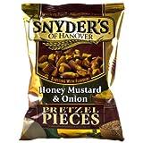 Snyder's Pretzel Pieces - Honey Mustard & Onion, 3er Pack (3 x 125 g)