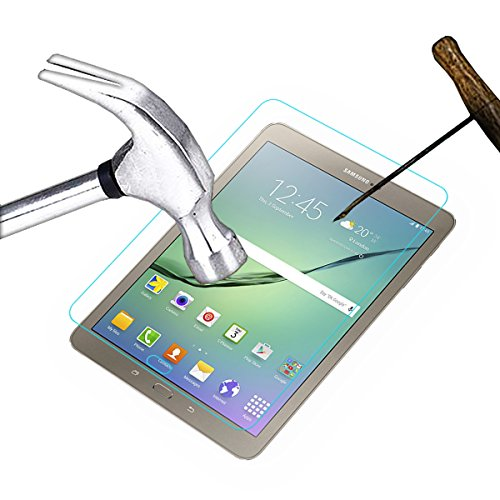 Acm Tempered Glass Screenguard For Samsung Galaxy Tab S2 9.7 T815 Tablet Screen Guard Scratch Protector