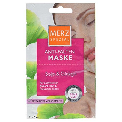 Merz Spezial Anti Falten Maske, 10 ml (Ginkgo-maske)