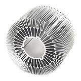 89mm x 50mm Zylinder 15W High Power LED-Kühlkörper aus Aluminium Kühl Fin