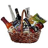 Geschenkkorb - Präsentkorb, Tapas und Rotwein Rioja