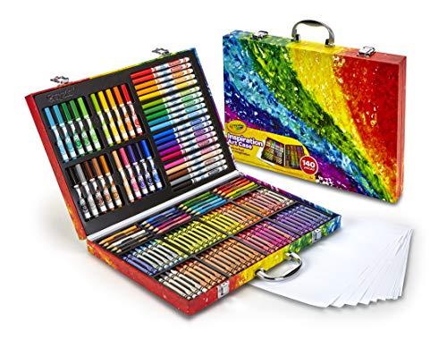Crayola Inspiration art case - Kit de manualidades para niños (Lápiz de color, Lápiz, Rotulador), 140 piezas