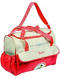 Guru Kripa Baby Products™ Presents New Born Baby Multypurpose Mother Bag With Holder Diapper Changing Multi Comprtment... - B07C16JRZ3