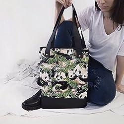 Bolso Tote Bag Osos Pandas