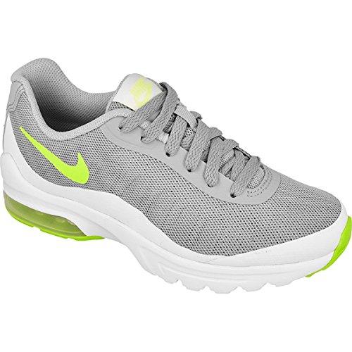 Nike Bambino Wolf Grey / Electric Green-White Scarpe Running Grigio (Gris (Wolf Grey / Electric Green-White))