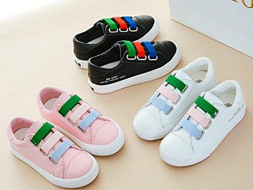 Ohmais Enfants Filles Garçon Chaussure de loisir chaussure de sport souliers pink