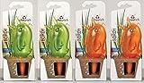 Wasserspender, Bewässerungskugel, 4er Set 'Bördy' in verschiedenen Farben und Größen