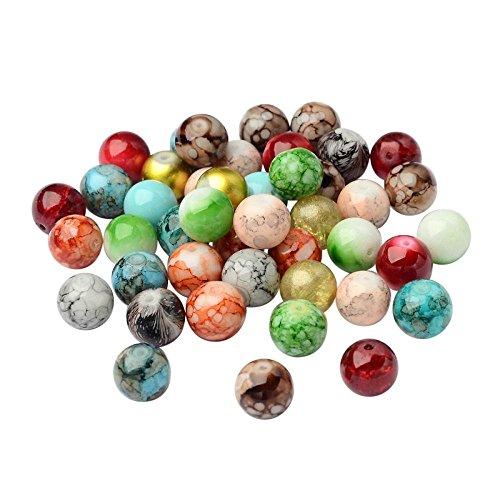 pandahall-mixte-style-et-ronds-couleur-peint-la-bombe-des-perles-mixtes-de-verre-12-mm-trou-15-mm-en