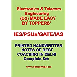 Electronics and Communication [ECS] Handwritten Notes [IES] [GATE] [PSU] [IAS] [Best Coaching in Delhi]]