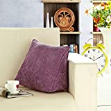 Fenverk Dreieckig Kissenbezug Baumwolle Softable Dekokissen Sofa Pillow KissenhüLle Fall Sofa Auto KissenbezüGe Home Bed Decor 45x45cm(B)