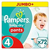 Pampers - Baby Dry Pants - Couches-culottes Taille 6 (+15 kg) - Jumbo+ Pack (x58 culottes)