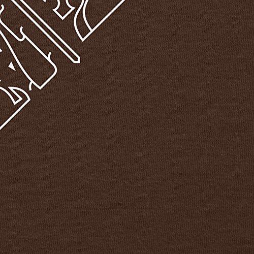 NERDO - GoT Houses Logo - Herren T-Shirt Braun