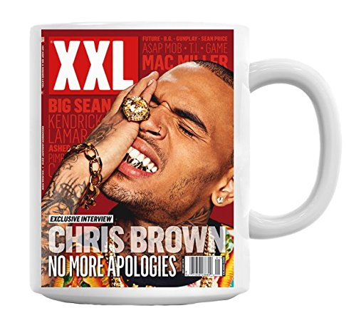 Chris Brown XXL No More Apologies Mug Cup - Xxl Lil Wayne
