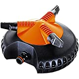 Claber 50372 8694 Idrojet 2000 Irrigatore Rotante, Nero/Arancione