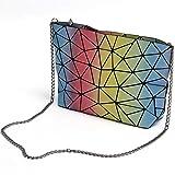 NOBIE, Damenhandtasche, Umhängetasche, Einkaufstasche, Regenbogenfarbe, Leicht Zu Tragen