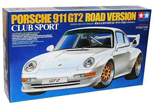 alles-meine.de GmbH Porsche 911 993 GT2 Club Sport Strassenversion 24247 Kit Bausatz 1/24 Tamiya Modell Auto Modell Auto - Auto Sport Spielzeug Kit Modell