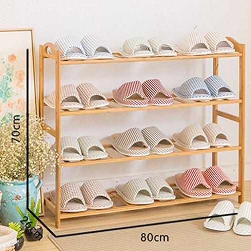regal im wohnzimmer schlafzimmer kche 4 tier schuh rack massivholz aufbewahrung multifunktionale - Einfache Dekoration Und Mobel Samtpfoten Fuer Die Moebel