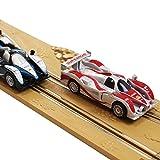 Kinder Autorennbahn Eco Rennbahn Racetrack 632cm lang mit 2 Loopings 1:43 Komplettset -