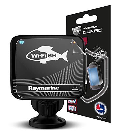 IPG Blendschutz, kompatibel mit Raymarine WI-Fish Chirp Sonar Fischfinder, unsichtbare Folie, lebenslange Herstellergarantie, blasenfrei