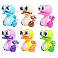 Dontdo Funny Baby Kids Cute Cartoon Big Eye Duck Animal Clockwork Wind Up Play Toy Gift