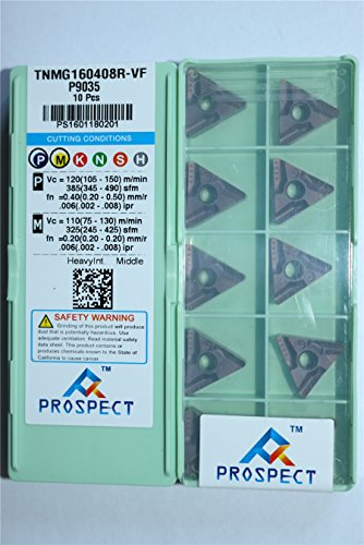 PROSPECT 10P TNMG332-VF/TNMG160408R-VF P9035 CNC Turning Carbide Insert FOR-Steel parts