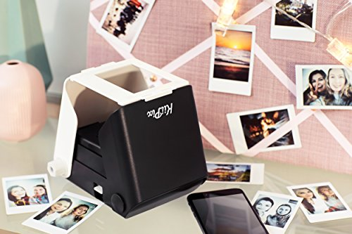 KiiPix Stampante fotografica per Smartphone, Nero
