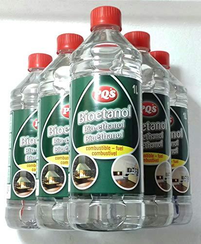 PQS BIOETANOL 96% 6 L (6 Botes DE 1 L)