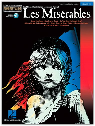 Piano Play-Along Volume 24: Les Miserables. CD, Sheet Music for Piano, Vocal & Guitar