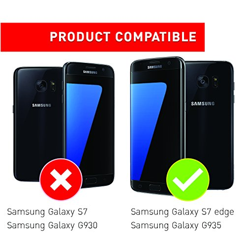 Bling Bling Samsung S7 Edge Hülle, TheBlingZ.® Bling Bling Strass Glitzer TPU Hybrid Schutzhülle für Samsung Galaxy S7 Edge (2016) - Rosa Rosa