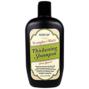 Madre Labs, Thickening Shampoo. Citrus Squeeze, 14 fl oz (414 ml) by Madre Labs