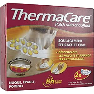 thermacare patchs chauffants anti douleur cou paule poignet thermacare boite de 2. Black Bedroom Furniture Sets. Home Design Ideas