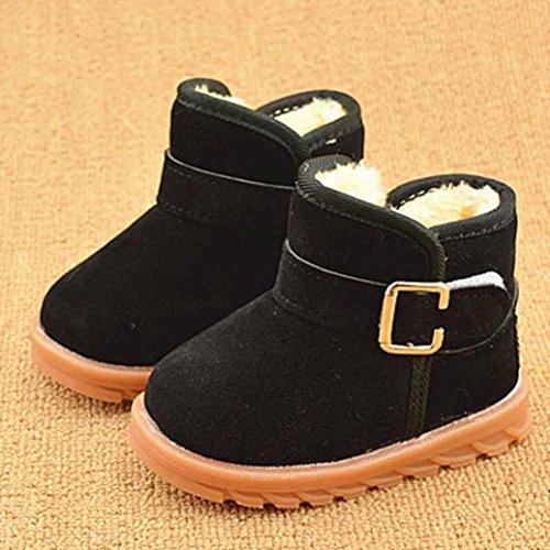Bild von HUHU833 Kinder Mode Mädchen Junge Baby Stiefel, Warme Watte Gepolsterten Schuhe Schnee Stiefel Warm Schuhe