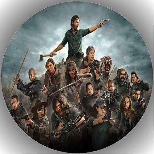 Fondant Tortenaufleger Tortenbild Geburtstag The Walking Dead T22