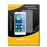 SWIDO 3 x Schutzfolie Oppo Mirror 3 Bildschirmschutz Folie DiamondClear unsichtbar